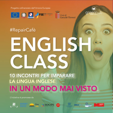 "Repair Café ""English Class"": impara l'inglese in chiave green"